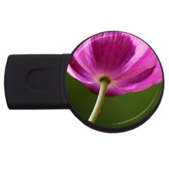 Poppy 4GB USB Flash Drive (Round)