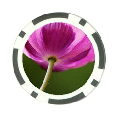 Poppy Poker Chip