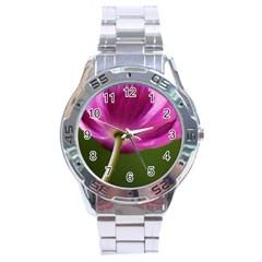 Poppy Stainless Steel Watch (Men s)
