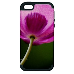Poppy Apple iPhone 5 Hardshell Case (PC+Silicone)