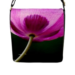 Poppy Flap Closure Messenger Bag (large)
