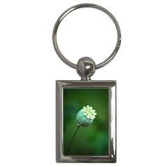 Poppy Capsules Key Chain (Rectangle)