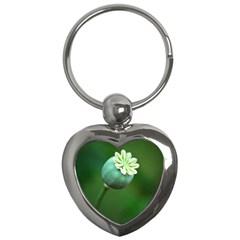 Poppy Capsules Key Chain (Heart)