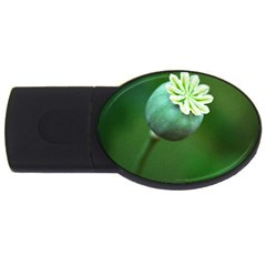 Poppy Capsules 2GB USB Flash Drive (Oval)