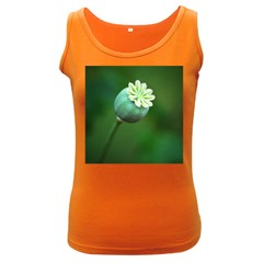 Poppy Capsules Womens  Tank Top (Dark Colored)