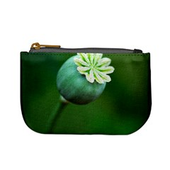 Poppy Capsules Coin Change Purse