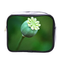 Poppy Capsules Mini Travel Toiletry Bag (One Side)
