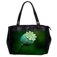Poppy Capsules Oversize Office Handbag (one Side)