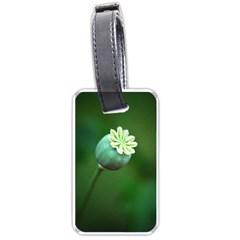 Poppy Capsules Luggage Tag (One Side)