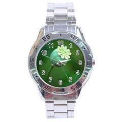 Poppy Capsules Stainless Steel Watch (Men s)