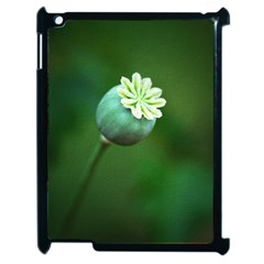 Poppy Capsules Apple iPad 2 Case (Black)