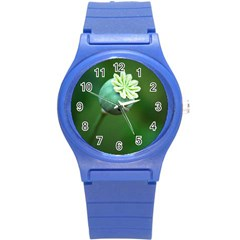 Poppy Capsules Plastic Sport Watch (Small)