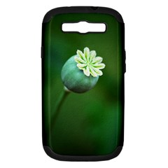 Poppy Capsules Samsung Galaxy S III Hardshell Case (PC+Silicone)