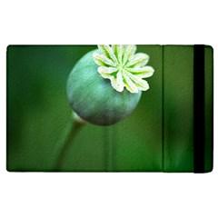 Poppy Capsules Apple iPad 3/4 Flip Case