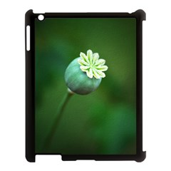 Poppy Capsules Apple iPad 3/4 Case (Black)