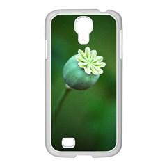 Poppy Capsules Samsung GALAXY S4 I9500/ I9505 Case (White)