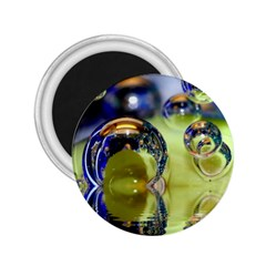 Marble 2 25  Button Magnet