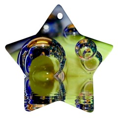Marble Star Ornament