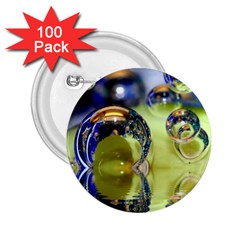Marble 2.25  Button (100 pack)