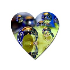 Marble Magnet (Heart)