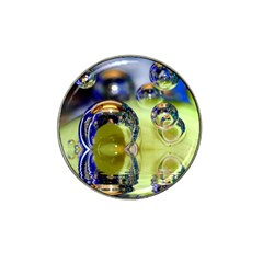 Marble Golf Ball Marker 4 Pack (for Hat Clip)