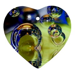 Marble Heart Ornament (two Sides)