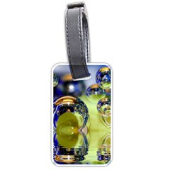 Marble Luggage Tag (two Sides)