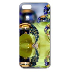 Marble Apple Seamless iPhone 5 Case (Clear)