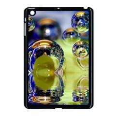Marble Apple iPad Mini Case (Black)