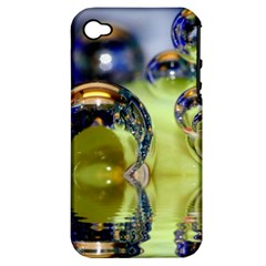 Marble Apple iPhone 4/4S Hardshell Case (PC+Silicone)