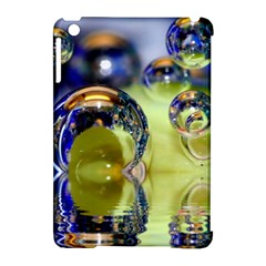 Marble Apple iPad Mini Hardshell Case (Compatible with Smart Cover)