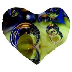 Marble 19  Premium Heart Shape Cushion