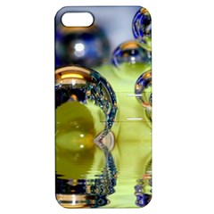 Marble Apple Iphone 5 Hardshell Case With Stand