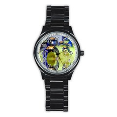 Marble Sport Metal Watch (Black)