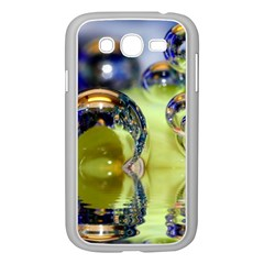 Marble Samsung Galaxy Grand DUOS I9082 Case (White)