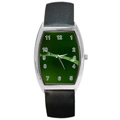 Pearls   Tonneau Leather Watch