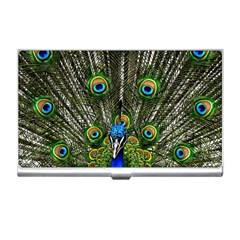 Peacock Business Card Holder