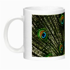 Peacock Glow in the Dark Mug