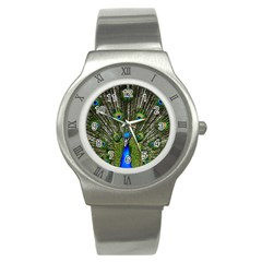Peacock Stainless Steel Watch (Unisex)
