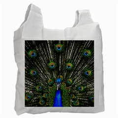 Peacock Recycle Bag (One Side)