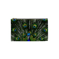 Peacock Cosmetic Bag (small)