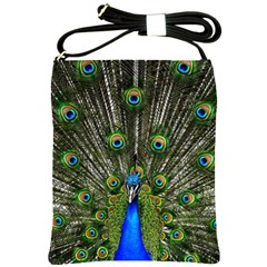 Peacock Shoulder Sling Bag