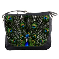 Peacock Messenger Bag