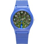 Peacock Plastic Sport Watch (Small) Front