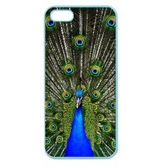 Peacock Apple Seamless iPhone 5 Case (Color)