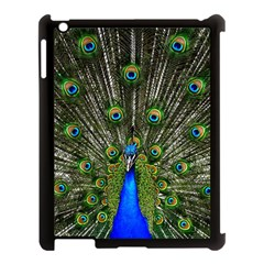 Peacock Apple iPad 3/4 Case (Black)