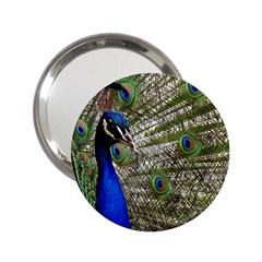 Peacock Handbag Mirror (2 25 )