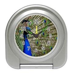 Peacock Desk Alarm Clock
