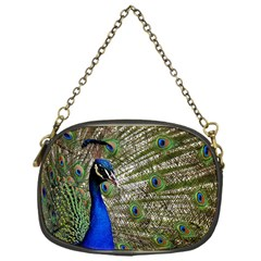 Peacock Chain Purse (One Side)