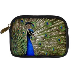 Peacock Digital Camera Leather Case